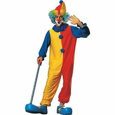 Adult Clown Hat Jumpsuit Neck Ruffle Costume Dress Ru55023