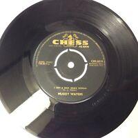 "Muddy Waters 'My Dog Can't Bark/Rich Man's Woman Chess Vinyl 7"" Single VG+ Nice!"