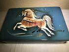 Sascha Brastoff California Pottery Star Steed Horse Trinket Box Signed