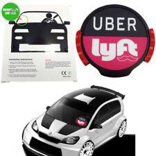 4.5V Uber Lyft Sign Led Light Bright Glowing Car Logo Wireless UBER LYFT Signs