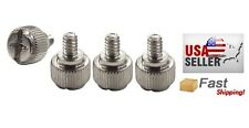 12-Pack Chrome Silver Steel Case/Thumb Screws NEW
