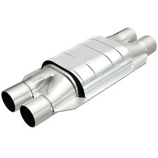 """Magnaflow # 94008 Universal High-Flow Catalytic Converter Oval  Dual 2"""" In/Out"""