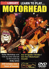 LICK LIBRARY - LEARN TO PLAY MOTORHEAD DVD