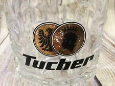 Tucher Weizen Beer Glass Collectible German Stein Mug 0.5L Made in Italy