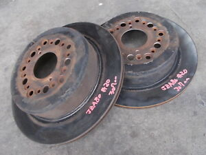 TOYOTA JZA80 SUPRA series1 2JZGTE 6speed rear brake disk 307mm pair sec/h #20