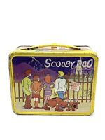 1973 SCOOBY DOO HALLOWEEN HANNA BARBERA PRODUCTIONS THERMOS METAL LUNCH BOX