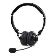 for Trucker Ps3 Bluetooth 4.1 Stereo Noise Cancelling Boom Mic Headset Headphone Black
