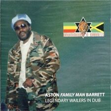 """ASTON BARRETT (ASTON """"FAMILY MAN"""" BARRETT) - LEGENDARY WAILERS IN DUB NEW CD"""