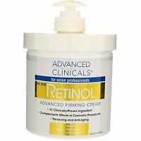 Advanced Clinicals Retinol Advanced Firming Cream, 16 oz