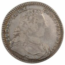 [#57904] France, Royal, Token, 1731, Vf(30-35), Silver, Feuardent #330, 7.32
