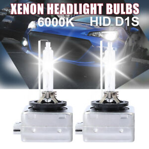 2x D1S 6000K D1R hid bulbs Headlights Head Lamps Pure White Replace 1:1 RCP