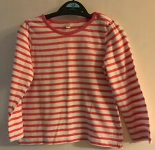 BHS Baby Girls Pink & White Striped Long Sleeved Top. Age 18-24 Months