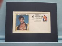 "Sylvester Stallone in ""Rocky"" and Commemorative Cover of his as Rocky Balboa"