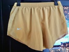 Nike Tempo Tech Pack Sz XS NWT $60.00 style AQ5645-790 shorts color mustard