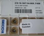 10 PCS    USER TOOL S  218.19-160T-04-M08F40M