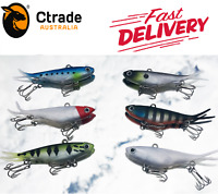 6 x Soft Plastic Vibe Transam Fishing Lures 95mm Barra Snapper Kingfish Jew Lure