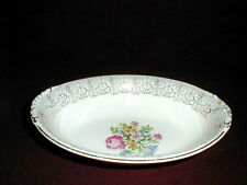 Homer Laughlin Eggshell Nautilus PETIT POINT Oval Vegetable Bowl