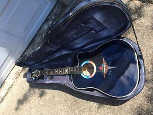 Esteban Limited Edition Acoustic Guitar w/case