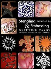 Stenciling and Embossing Greeting Cards, Barker, Judy, Used; Good Book