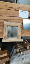 Beautiful Hand Crafted Solid DRIED OAK Framed Wall Mirror