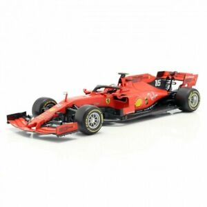 Bburago Ferrari Racing SF90 Rossa Scala 1:18 LECLERC - Ferrari Official Product