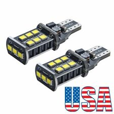 US 2*T10 T13 T15 W16W Backup Reverse LED Light Bulb for 1997-2016 Toyota Camry