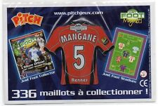 MAGNET MAILLOT FOOTBALL PITCH ~ MANGANE ~ 5 ~ RENNES ~ JUST FOOT 2009