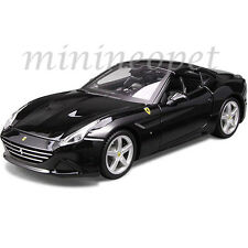 BBURAGO 18-26002 FERRARI CALIFORNIA T CLOSED TOP 1/24 DIECAST CAR BLACK