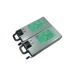2x HSTNS-PD19 570451-101 1200W Power Supply DPS-1200FB-1