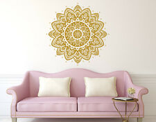 Mandala Wall Decal Ornament Decal Bohemian Vinyl Sticker Boho Bedroom Decor X113