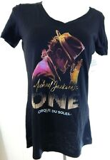 Cirque du Soleil Women's Medium Tee Shirt Michael Jackson One Silhouette NEW NWT