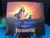 Walt Disney POCAHONTAS softcover VERY RARE Promo Book LA Premiere El Capitan