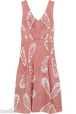 NWT $795 Tory Burch Pink Tie Dye Helen Dress Size 2