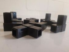 5 x L shape 25 mm Plastic Elbow for  Aluminium/ Stainless Steel Square Tube