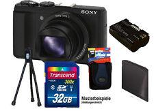 SONY DSC-HX60V Schwarz inkl. 32GB Komplettset ! HX60V ****