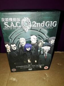S.a.c.2nd Gig Ghost In The Shell Stand Alone Complex Complete Boxset
