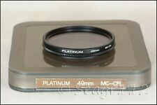Platinum 49mm MC-CPL Multicoated Circular Polarizer Filter - LNIB