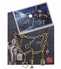 Harry Potter Horcrux Charm Bracelet Diadem Slytherin Locket Hufflepuff Cup Ring