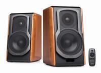 EDIFIER Studio S1000DB Bluetooth Regallautsprecher 120 Watt aptX Infrarot Holz
