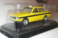 wonderful  ATLAS-modelcar  VOLVO 144 TAXI STOCKHOLM 1972 - yellow - 1/43