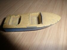 ORIGINAL    MATCHBOX - LESNEY   No.48.   SPEEDBOAT    METEOR  SPORTSMAN Mk ll.