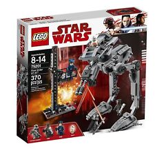 LEGO Star Wars: First Order AT-ST™ Building Play Set 75201 NEW NIB