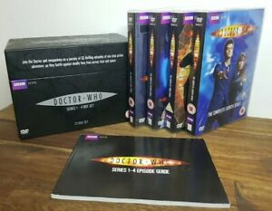 Doctor Who Complete Series 1-4 Box Set (DVD PAL Region 2+4) Ninth & Tenth Doctor