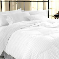 100% Egyptian Cotton Duvet Cover With Pillow Case 400TC Bedding Set All Sizes