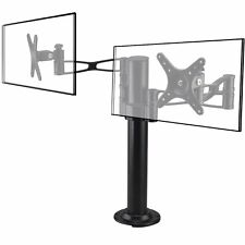 VESA 100x100mm Dual Twin Monitor Arm Stand Desk Mount LCD LED Display 2 Screens