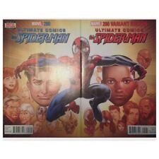 Nm Ultimate Comics All New Spider-Man #200 Cover A & B
