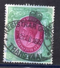 1913 South Africa Bft:5  2/- Green & Purple. Very Fine Used Revenue.