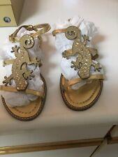 Kate Spade New York Studded Lizard Sandals Size 9.5 Sooo Cute Euc