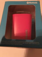 Wireless Portable Bluetooth Speaker by Phillips. Pink