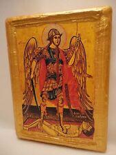 Saint Michael The Archangel Greek Eastern Orthodox Religious Icon Art